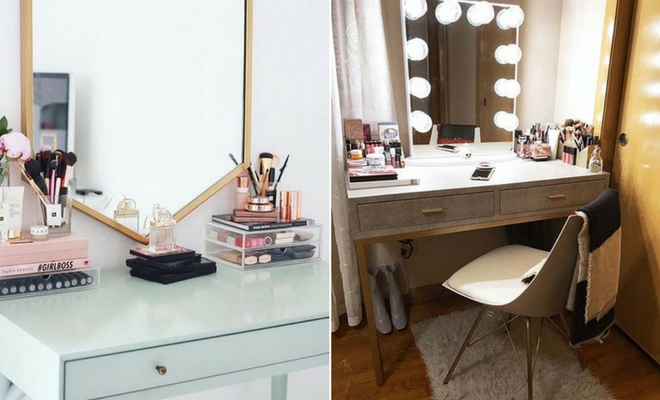 Gorgeous Makeup Vanity Ideas