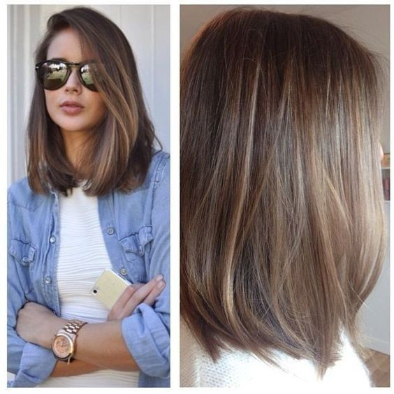 20 Lovely Medium Length Haircuts for 2019: Meidum Hair Styles for