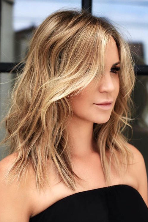 Medium Short Haircuts for 2018 - Southern Living