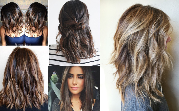40 Amazing Medium Length Hairstyles & Shoulder Length Haircuts 2019