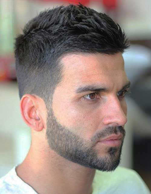 Choose from fashionable men haircut   styles