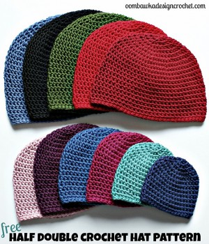 Beanies for the Big Boys: Free #Crochet Hats for Men!