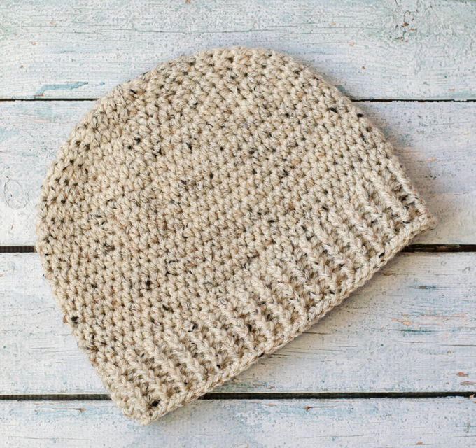 Salt of the Earth Men's Crochet Beanie - Crochet 365 Knit Too