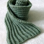 Unique and Stylish Men's Scarf Knitting   Patterns