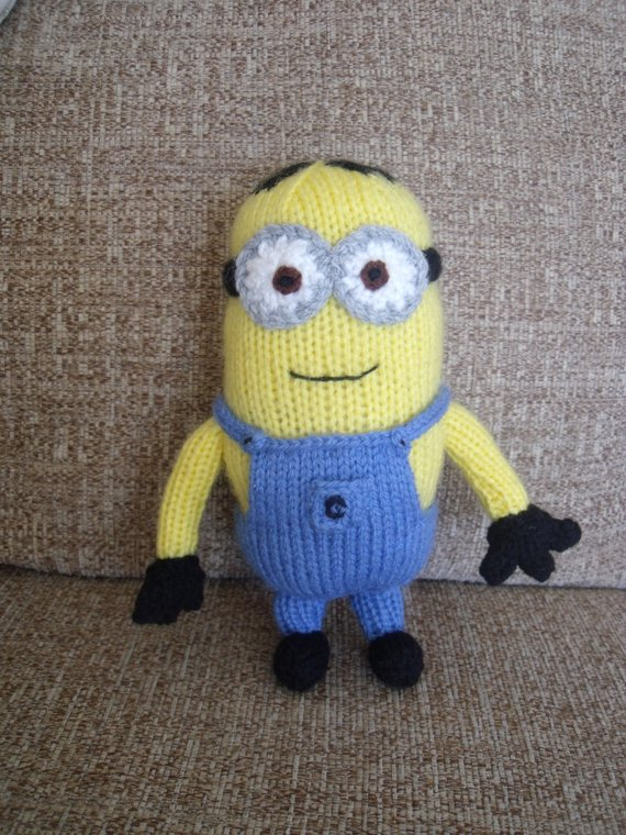 Minion Knitting Pattern | Etsy