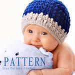 Modern Crochet Baby Beanie