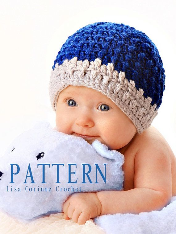 22 Adorable Free Crochet Baby Hat Patterns | 759x570