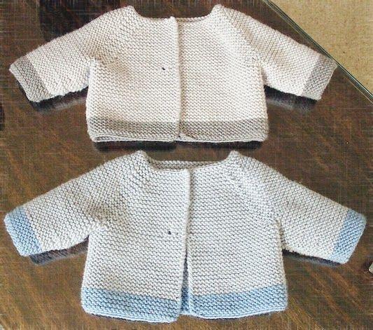 MillaMia Modern Knitting Design | Garter Stitch Cardigan pattern