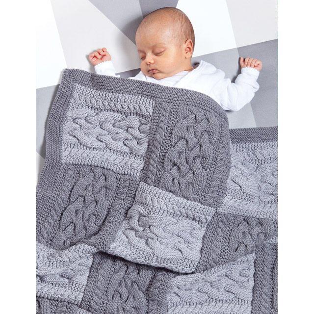 Lapp Blanket : MillaMia Modern Knitting Design | Likes on Pinterest
