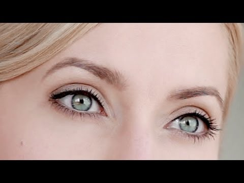 Natural eye makeup tutorial for everyday - YouTube