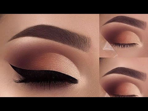 Easy Natural Eye Makeup Tutorials l Eyebrow Tutorial _ Makeup For