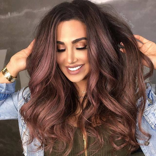 Huda Kattan's new hair color by Guy Tang | Balayage Ombre Collection
