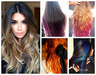 18 Biggest Hair Color Trends and Techniques for 2016 - Beauty and