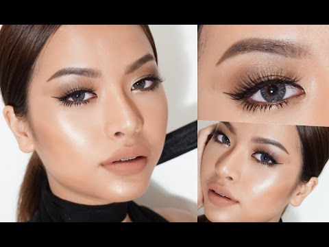 REAL NUDE MAKEUP TUTORIAL (VVALENTINES) - YouTube