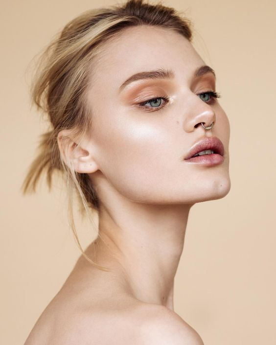 Exciting ways to wear nude makeup   The Wedding Gallery