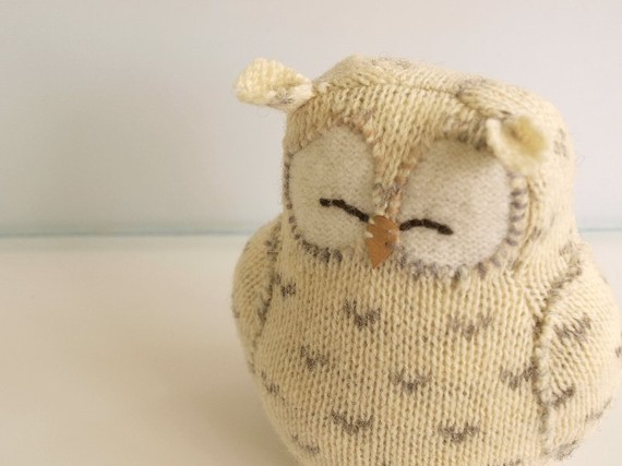 Cute Little Knitted Owl! - Knitting is Awesome