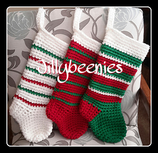 Ravelry: Jillybeenies Christmas Sock pattern by Jill Harrison