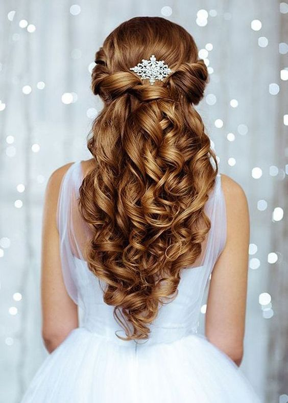 Wedding Hairstyles for Long Hair - A perfect hairstyle for the most