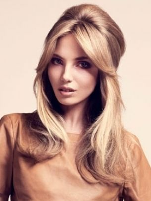 Mature Women Hairstyle | Bouffant Hair Half Up | Pinterest | Hair