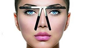 Amazon.com : Tattoo Eyebrow Ruler Three-Point Positioning Permanent