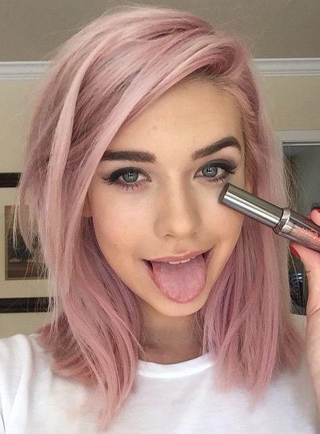 If I didn't have to adult, I'd have pink hair. | m a k e u p