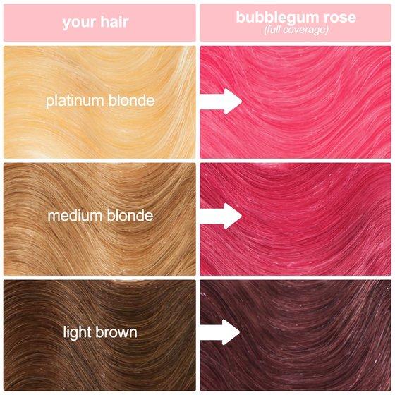 Bubblegum Rose: Hot Pink Vegan Semi-Permanent Hair Dye - Lime Crime
