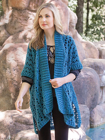 Crochet Patterns - Patagonia Poncho Crochet Pattern