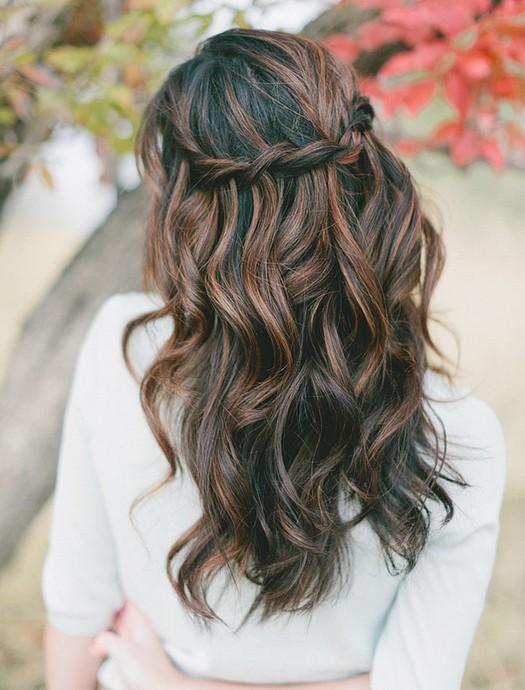 8 Cute Waterfall Twist Tutorial: Long Hairstyles Ideas - Pretty Designs