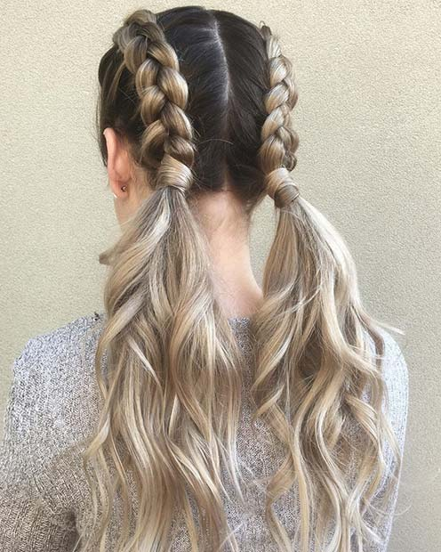 21 Cute Braided Hairstyles for Summer 2018 | StayGlam