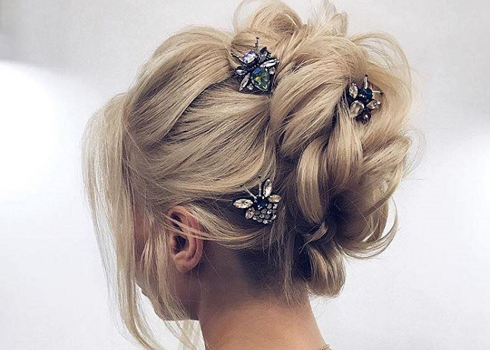 Pretty Hairstyles to Flaunt at A Spring Wedding | Fashionisers©