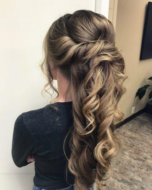 37 Inspiring Prom Updos for Long Hair for 2019 #inspo