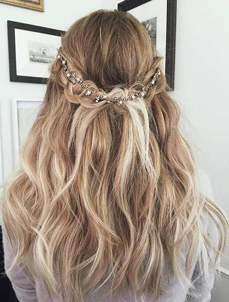 причёски на выпускной | Homecoming hairstyles | Cabello, Trenzas