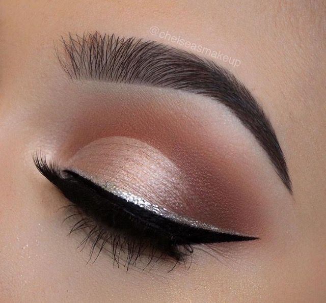 Silver lining . | M A K E U P | Pinterest | Makeup, Eye Makeup and