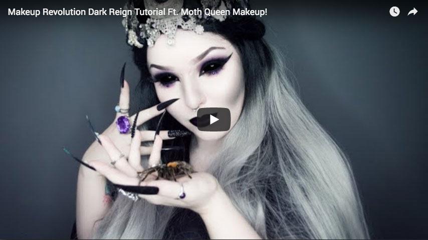 Tutorial - Dark Reign ft. Moth Queen Makeup