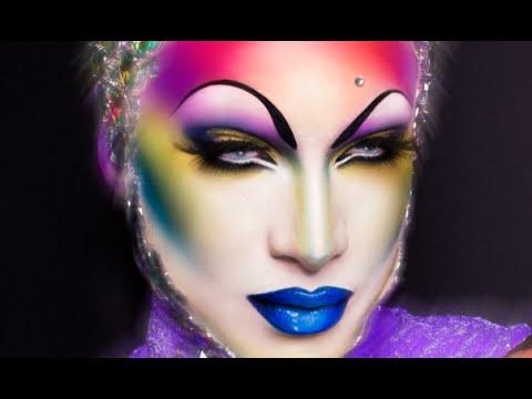 Miss Fame - Cosmic Queen Makeup Tutorial - YouTube