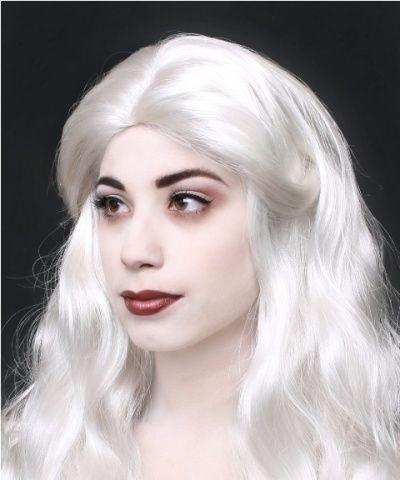 White Queen Makeup | Halloween white queen | Queen makeup, White