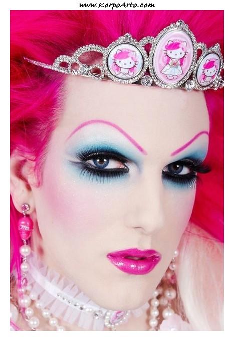 Drag Queen Makeup 04 u2013 Charlotte Leigh Theatre Design 2014-2017