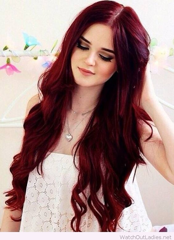 Using Red Hair Dye For Dark Hair