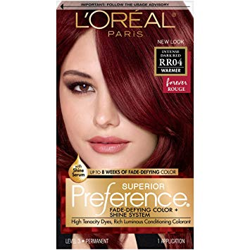 Amazon.com : L'Oréal Paris Superior Preference Fade-Defying + Shine