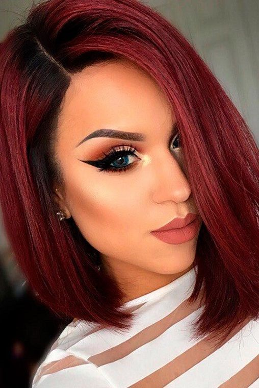 30 Short red hair color ideas 2018 | Hair coloring | Pinterest