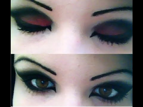 Dark Eye Makeup Tutorial Gothic/Emo/Scene/Alternative | Make-up