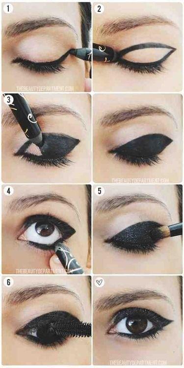 eye makeup tutorial | ☻Scene Hair☻ | Pinterest | Makeup, Eye