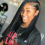 Easy wearing sew in hairstyles