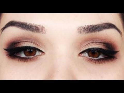 Valentines day Sexy eye make up tutorial - YouTube