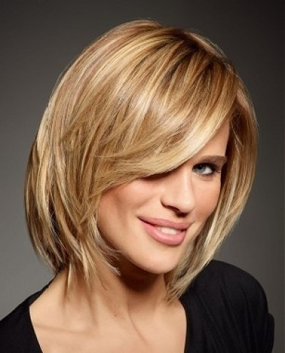Sexy Messy Medium Bob Hairstyle - PoPular Haircuts