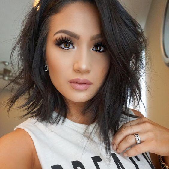 40 Super Sleek and Sexy Hairstyles for Medium Length Hair - Nona Gaya