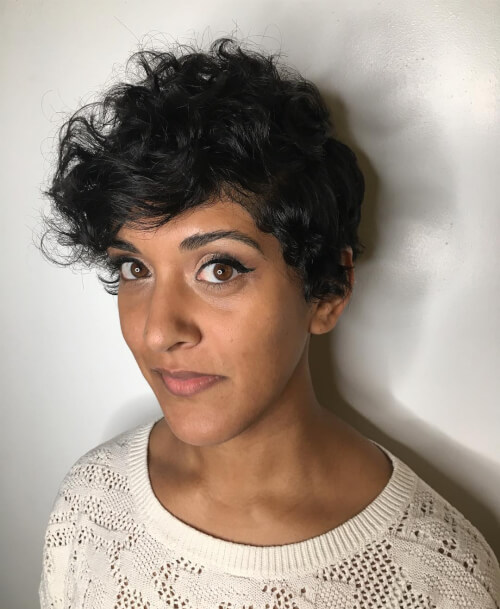 34 Best Hairstyles for Short Curly Hair Trending in 2019