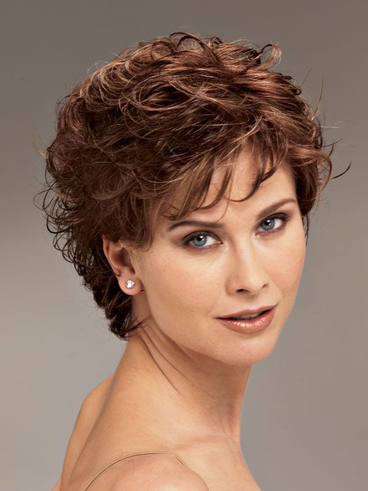 short hairstyles for curly hair women over 40 | Hairstyles | Curly