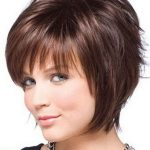 Short hairstyles for round faces are   ideal for people with round face
