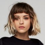 A few amazing short hairstyles with bangs